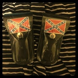 Other - New - Rebel Flag Belt clip on accessories